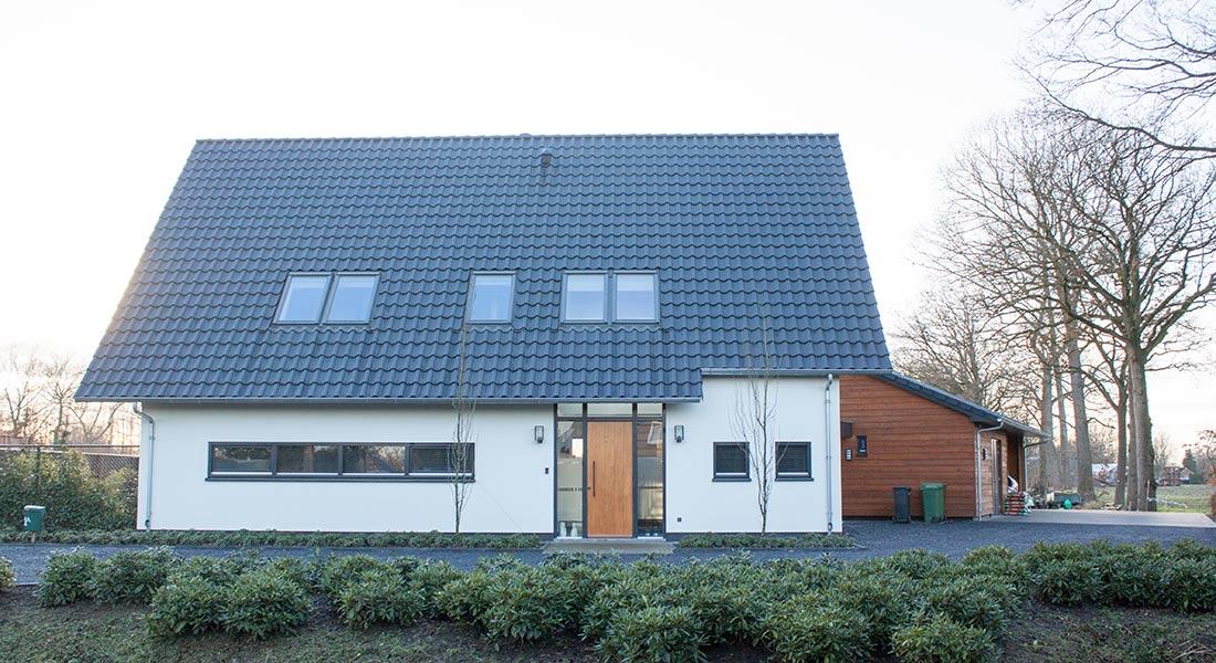 nieuwbouw huis voorzijde oirschot
